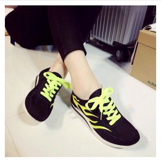 shoes woman 2015 new women flat casual shoes fashion woman breathable mesh sports shoes free shipping(China (Mainland))