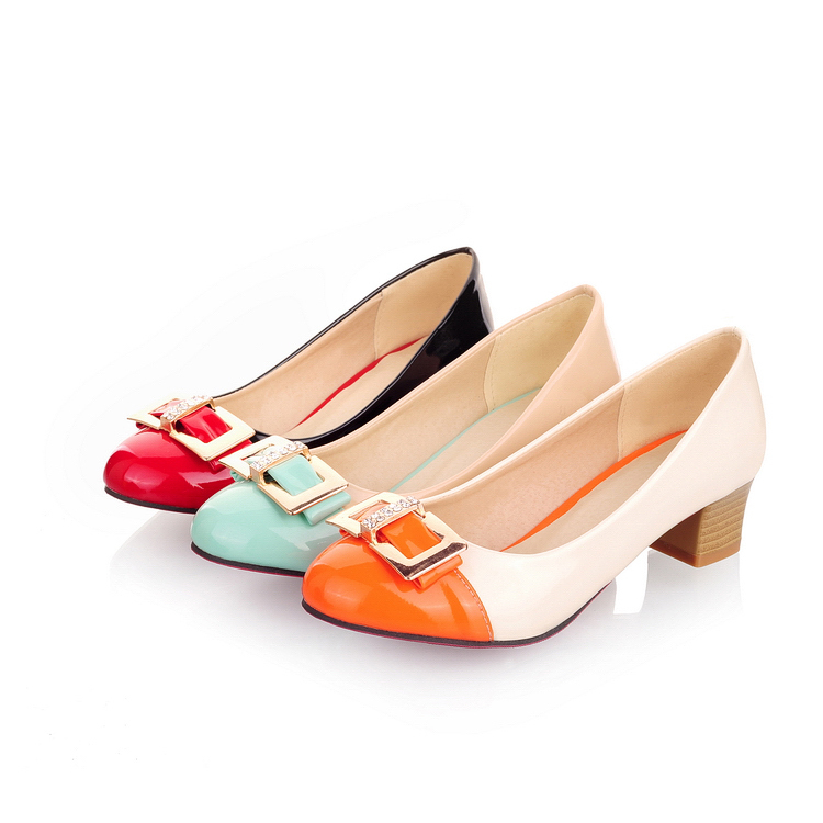 2015 fashion oxford shoes red bottoms hand made woman shoes unique ...