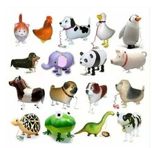 Free Shipping 20pcs/lot Assortment Design Walking Pet Balloon Hybrid Models of Animal Balloons Children Party Toys Birthday Gift(China (Mainland))