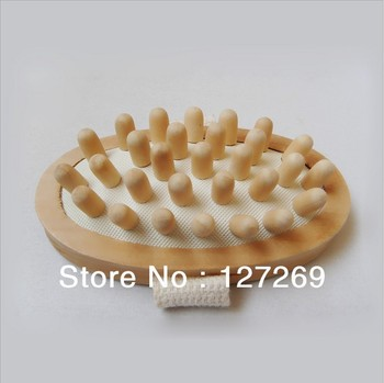 2013 New Products Wooden Massager Bullet Head Massager SPA Bathing and Massage Equipment