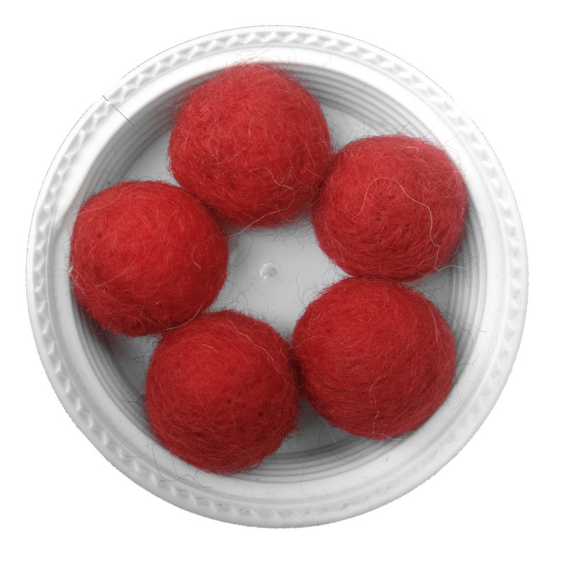 Free Shipping Wholesale Dark Red Handmade wool felt ball 200pcs 20mm diy Woven Balls For Rugs jewelry beads home Decor<br><br>Aliexpress