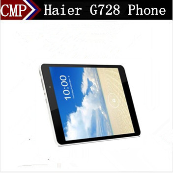 """DHL Fast Delivery Haier G782 Cell Phone Octa Core Android 4.4 7.85"""" FHD 2048X1536 2GB RAM 16GB ROM 5.0MP 5150Mah Tablet Phone(China (Mainland))"""