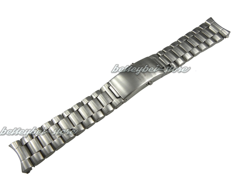 20mm Hot sell Support wholesale silver stainless steel watch band strap Bracelets For OMEGAwatch Professional Planetocean(China (Mainland))