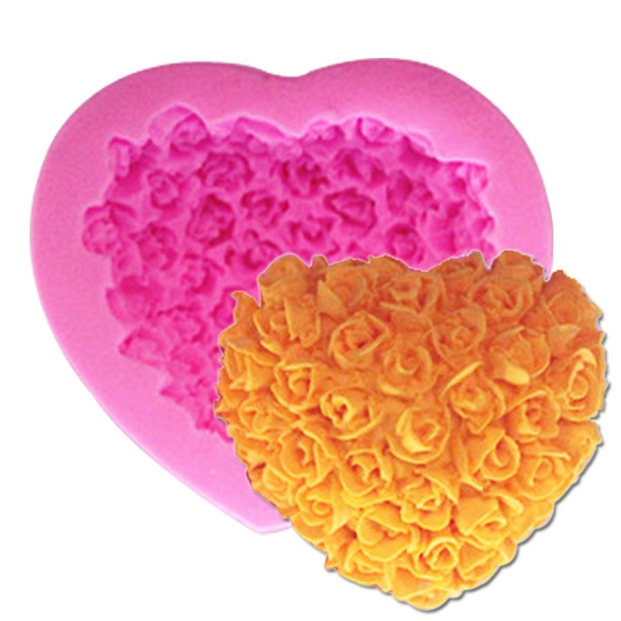 S036 3d rose flower bouquet loving heart shape valentine s day gift