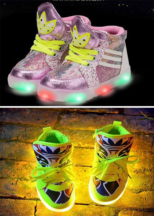 أحدث الاحذية الرياضية لكٍِ New-Luminous-Sneaker