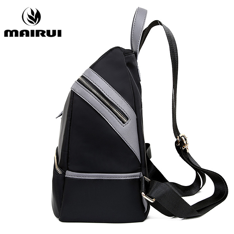 2016 New Women Backpack Waterproof Nylon Ladies Luxury Brand ...