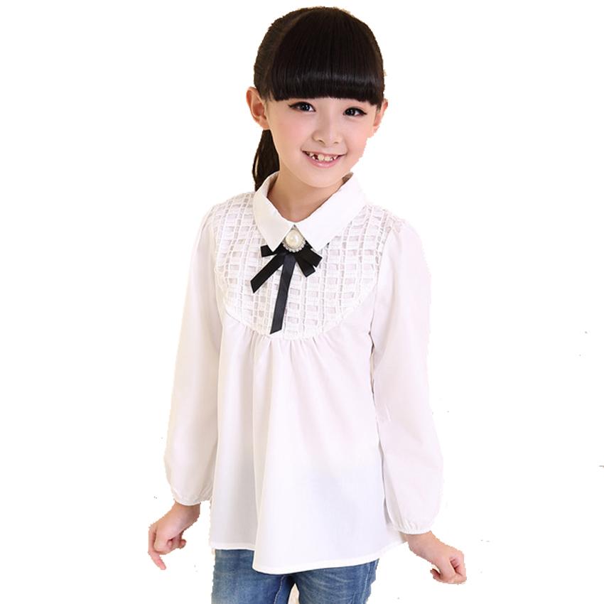 Блузки школьные для девочек доставка