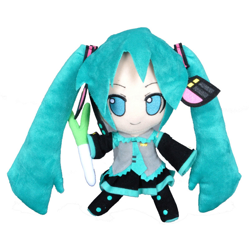 VOCALOID series Hatsune Miku plush toy Japan Anime snow Hatsune Miku Soft Stuffed Toys Figure Toy for Girls Brithday Gifts 26cm(China (Mainland))