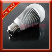 6W E27 LED Bulb Light Lamp Pure White 550Lm HCC 85-265V(China (Mainland))