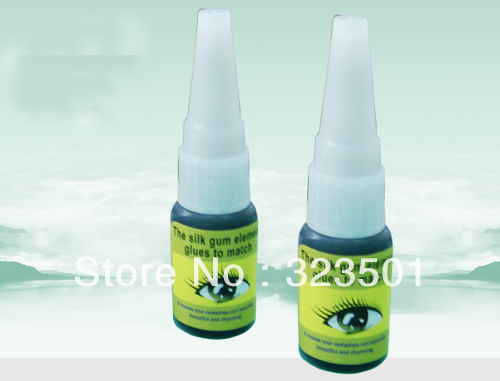 Professional High Quality Strong Low Fume Smell Eyelash Extension Glue 5pcs Free Shipping<br><br>Aliexpress