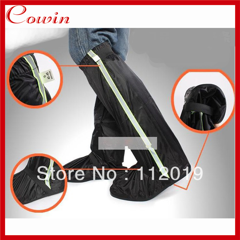 New outdoor riding Motorcycle Rain Boot Covers Waterproof Bike Shoe cover Black Eur Size 38-45 - Cowin Technology Co., Ltd. store