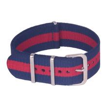 22 mm nueva Navy rojo de la alta calidad de la otan correa de Nylon correa de reloj band envío gratis wach