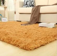 Super Soft Silky Bedroom Rug Living Room Carpet Rug Pure Color Hallway Floor Mats Outdoor Mats Carpet Doormat Bathroom Carpet(China (Mainland))