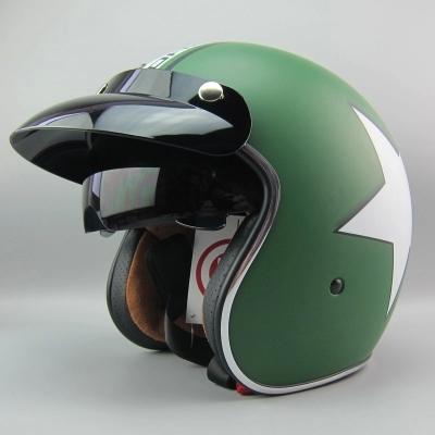 Фотография 2015 TORC casco motorcycle helmet retro scooter helmets vintage harley helmets for motorcycles with inner lens cascos para moto