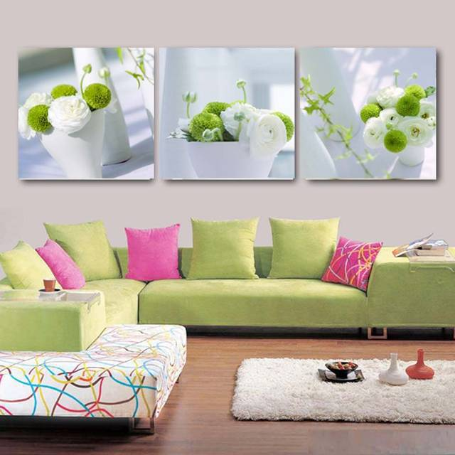 2016 Home Decor Picture Modern Flower Cuadros Decoracion