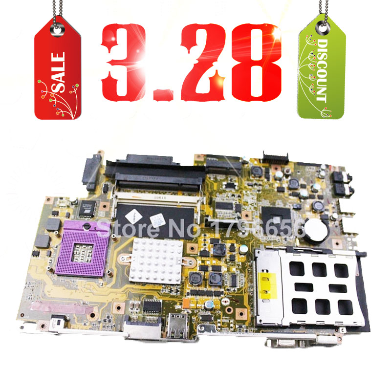 Hot selling 3.28 X51RL laptop motherboard for asus mainboard REV 2.0 intel (Integrated) Test 100% good work(China (Mainland))
