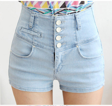 High Waisted Shorts Womens - The Else