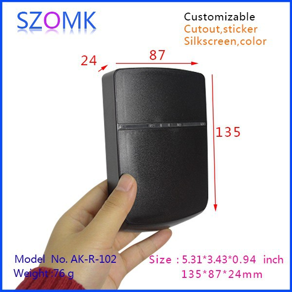 4 pcs/lot abs plastic card reader Black color enclosures house alarm systems wireless 135x87x24mm<br><br>Aliexpress