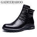 38-44 brand men boots GADEERAROO Top quality handsome comfortable Retro leather spring boots #808-3