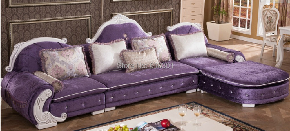 popular french style sofa buy cheap french style sofa lots from china french style sofa. Black Bedroom Furniture Sets. Home Design Ideas