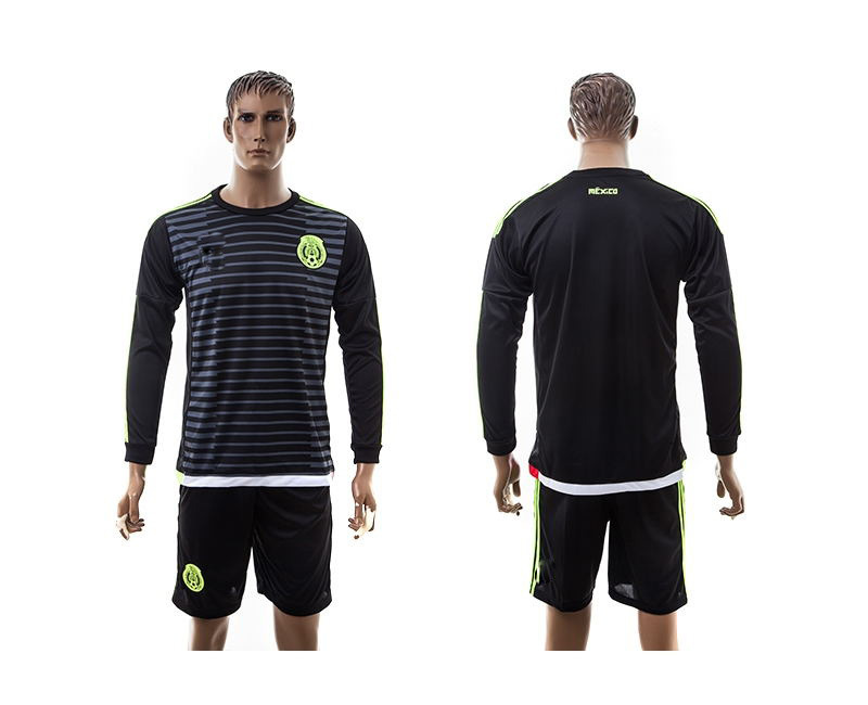 2015-16 Mexican football home outfit long sleeve(China (Mainland))