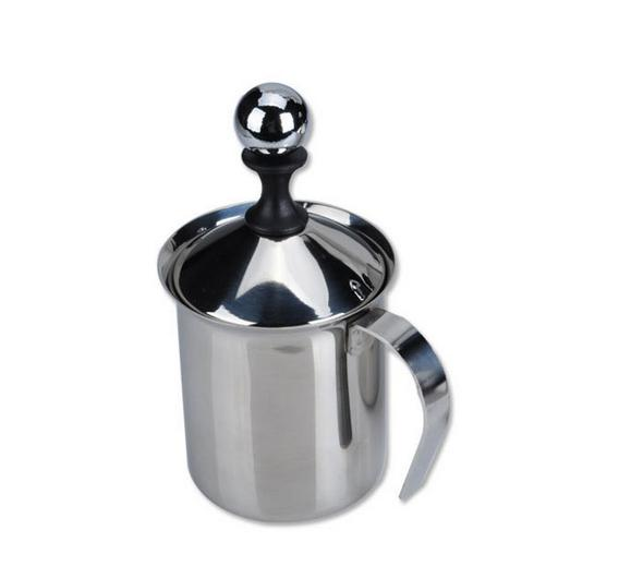 Home supplies Cooking Coffee Tools 400ml Small size stainless steel fancy coffee foam maker ...
