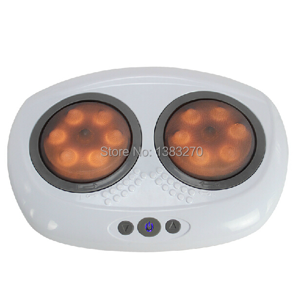 3D foot massager device electric foot massage machine with infrared heat leg relax(China (Mainland))