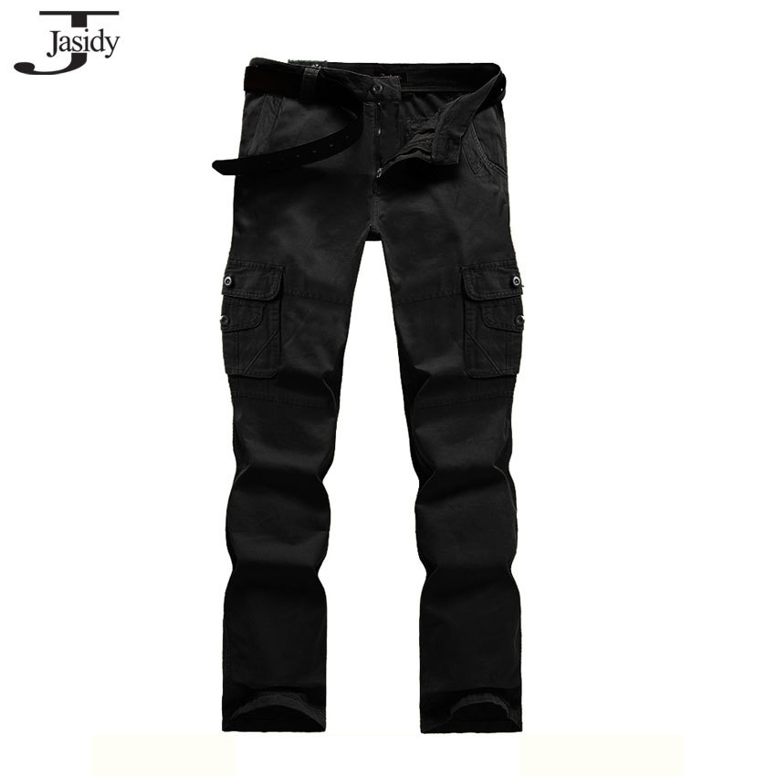Fashion Jogging Pants Men New 2015 Army Black Military Pants Cargo Male Straight Outdoor Sweatpants Mens Trousers Pants Size 565(China (Mainland))