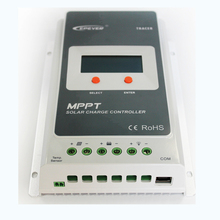 MPPT Solar Charge Controller 30A 12V24V Automatic Transfer Switch LCD Solar Panel Regulator for Solar Power System Battery 3210A