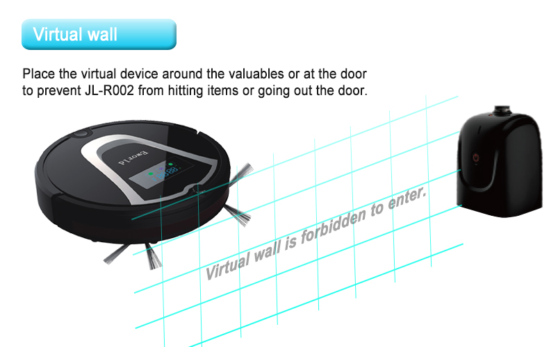 (Free to USA)Eworld Intelligent Smart Automatic Robotic Vacuum Cleaner, Everyday Dust Removal, Powerful Suction (Black) <br><br>Aliexpress