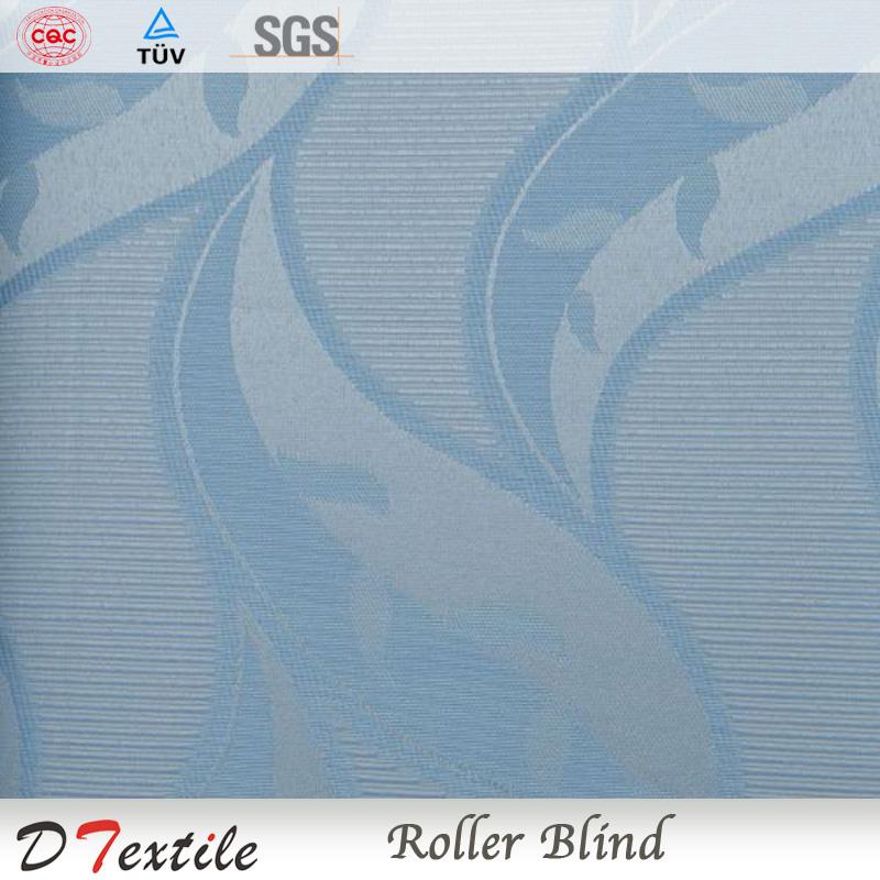 Fábrica chinesa estilo simples cor azul persianas revestimento branco apagão poliéster rolo cegos para casa, Escritório 2082B(China (Mainland))