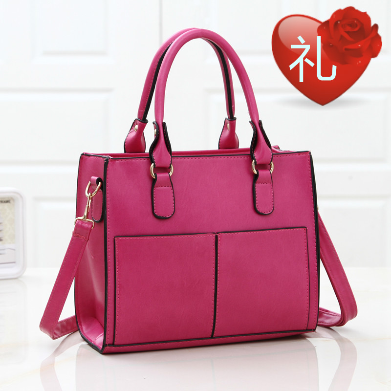Trend 2015 women's large square handbags espionage cowhide fashion handbag big messenger bag lady new designual bags - fashional accessories store