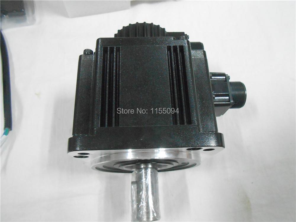 220V 2KW 6.37NM 3000rpm ECMA-C11020RS Delta AC Servo Motor Keyway Oil Seal New