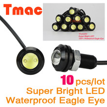 Eagle Eye 10pcs/lot Car styling led car light Parking Lights Daytime Running Light working DRL Fog lamp Waterproof eagle eye