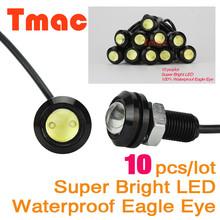 Eagle Eye 10pcs/lot Car styling led car light Parking Lights Daytime Running Light working DRL Fog lamp Waterproof eagle eye