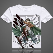 Japanese anime t shirt tshirt scouting legion clothes shingeki no kyojin tee shirt Attack On Titan Giant short-sleeve T-shirt