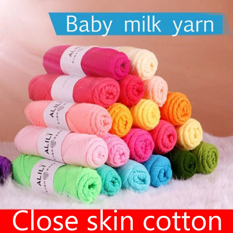 250g Wholesale Lots Soft Bamboo Crochet Cotton Knitting Yarn Baby Yarn Knitting Wool Thick Yarn For Knitting Threads Hand Knit(China (Mainland))