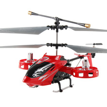 Free Shipping Hot Sale 4-way remote control toy Avatar shatterproof Wang RC helicopter remote control aircraft VS JJRC H3 V92