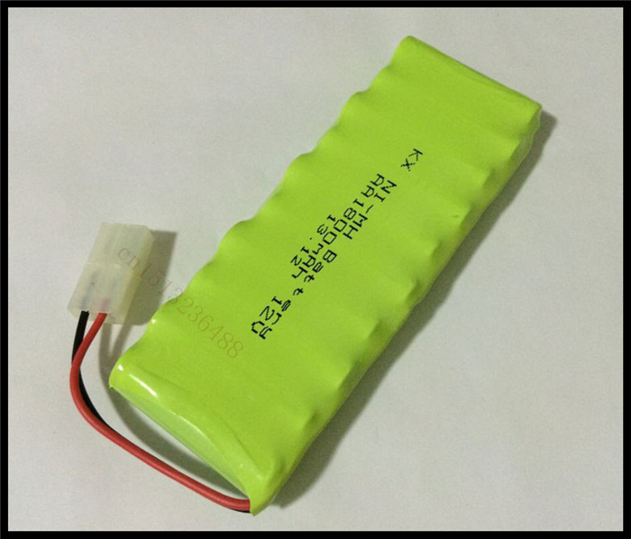 1 PCS/lot Original New AA Ni-MH 12V 1800mAh Ni-MH Rechargeable Battery Pack With Plugs Free Shipping(China (Mainland))