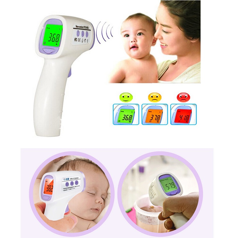 New Muti-fuction Baby/Adult Digital Termomete Infrared Forehead Body Thermometer Gun Non-contact Temperature Measurement Device<br><br>Aliexpress