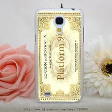 Harry Potter Platform Hogwarts Express Train Ticket Pattern Transparent Hard Case Samsung Galaxy S3 S4 S5 & Mini S6 edge - ShenZhen SIX 6 Co,.Ltd store