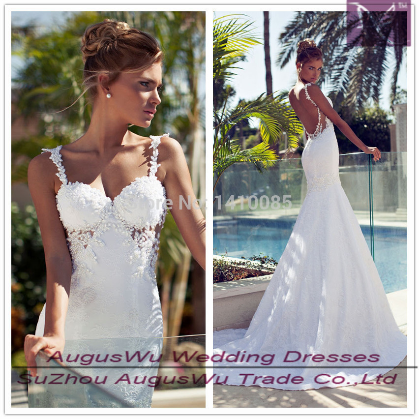 Awb388 vestidos de noiva 2015 inbal dror pearls lace for Lace wedding dress with pearls