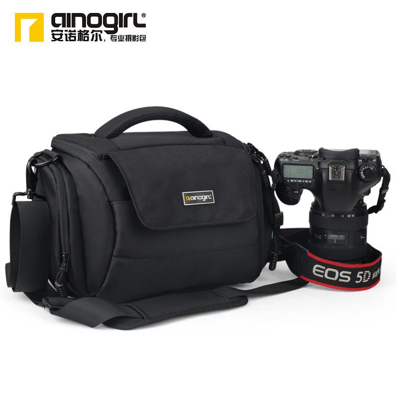Slr one shoulder camera bag camera bag fashion digital bag cross-body bag camera a1042(China (Mainland))