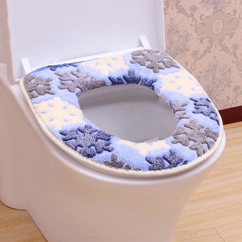 OUNONA Asiento de inodoro suave y c/álido Asiento de inodoro Pad Pad Lavable Closestool para ba/ño rosa