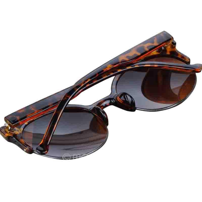 Gafas De Sol Vintage Retro Cat Eye Round Sunglasses Women Lunette De