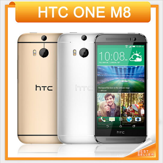"2016 Direct Selling Original Unlocked HTC ONE M8 5.0"" Quad Core 2GB RAM 16GB/32GB ROM 4G Bluetooth WIFI NFC Android Mobile phone(China (Mainland))"