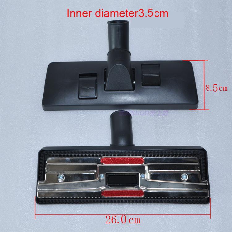 Universal Type 35mm interface Vacuum cleaner accessories Floor and carpet brush head Multifunctional cleaning brush head(China (Mainland))