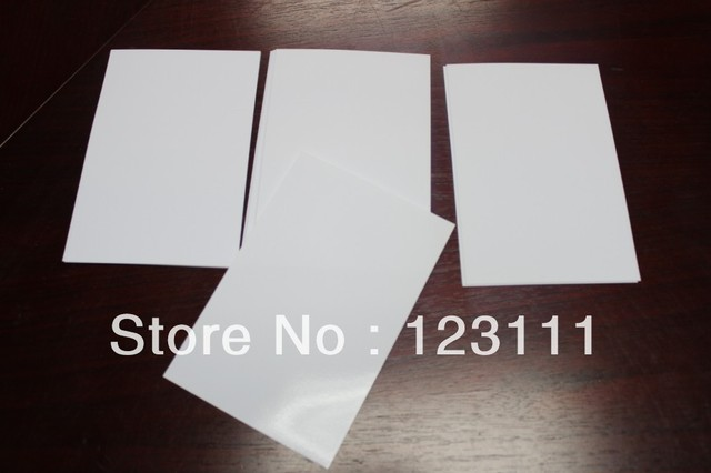 100 sheets A4 heat tansfer paper Sublimation paper For Epson R800/R1800,R1900 Printer