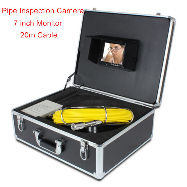 High Definition 7 inch LCD Monitor Endoscope Borescope internal pipe inspection(China (Mainland))