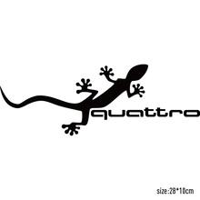 3 Pieces Customization Gecko quattro Car Covers Stickers Car-Styling audi a4 b6 a3 a6 c5 q5 q7 a5 car accessories - Sticker Factory Store store